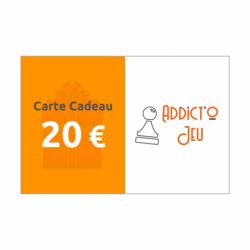 20€ - Carte cadeau