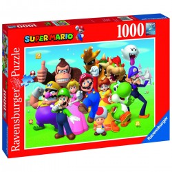 Puzzle 1000 pièces - Super...