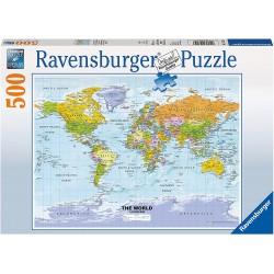 Puzzle 500 pièces - Carte...