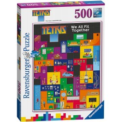 Puzzle 500 pièces - Tetris...