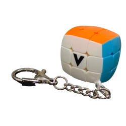 Porte Clé V-Cube Bombé