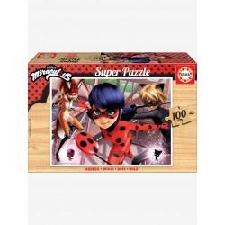 Puzzle en bois 100 pièces -...