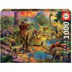 Puzzle 1000 pièces - Terres...