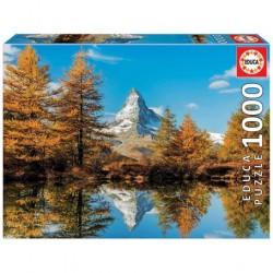 Puzzle 1000 pièces - Mont...