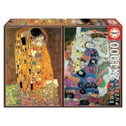 Puzzle 2x1000 pièces -...