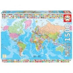 Puzzle 1500 pièces - Carte...