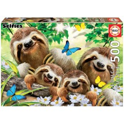 Puzzle 500 pièces - Selfie...