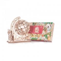 Globe maquette 3D mobile en...